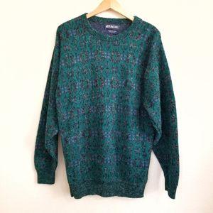 Vintage Puritan Grandpa Crewneck Sweater Large